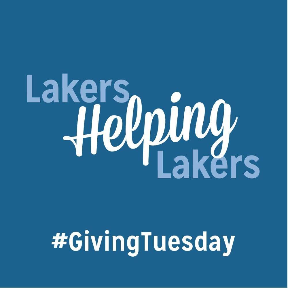 Giving Tuesday - Lakers Helping Lakers